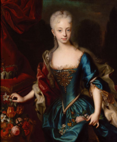 Archduchess Maria Theresa, by Andreas Möller.